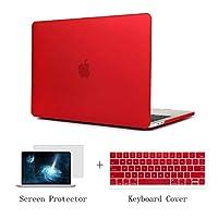 TwoL ウルトラスリム ハードシェルケースとTPUキーボードカバー スクリーンプロテクター MacBook Air 13インチ 2018年発売 A1932 Air13-2018