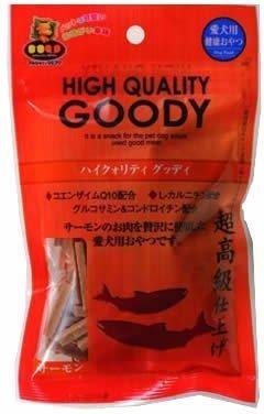 マルジョー&  ウエフク HIGH QUALITY GOODY ハイクォリティ グッディ サーモン 犬用 150g GY-S