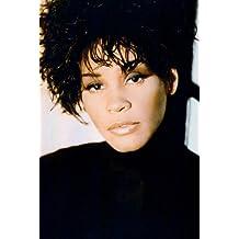 Nostalgia Store Whitney Houston In Black Polo Neck Glamour Pose 24X36Inch (60X91Cm) Poster
