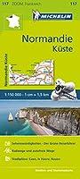 Michelin Zoomkarte Normandie Kueste 1 : 200 000: Strassen- und Tourismuskarte