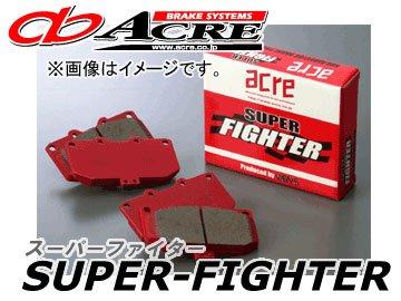 アクレ/ACRE ブレーキパッド リア スーパーファイター 378 スバル アウトバック BPH 2500cc