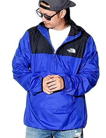 (ザ・ノースフェイス) THE NORTH FACE アノラックジャケット MENS' FANORAK NF0A3FZL USAモデル ブルー M [並行輸入品]