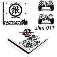 THGAME PS4 slim スキンシール 銀魂 保護シール
