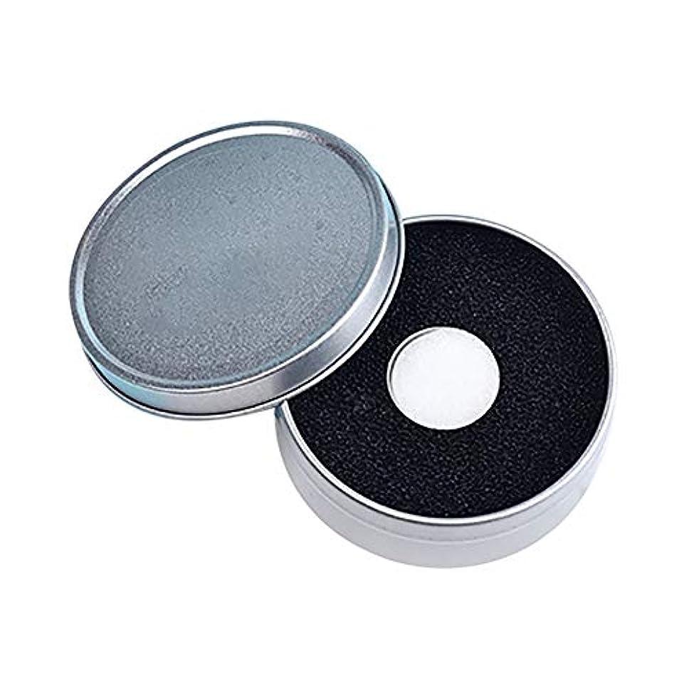 保育園強度ショップLITI メイクブラシ クリーナー ブラッシュブラシ ドライクリーニングスポンジ 迅速なクリーニングスポンジ 水が必要ないブラシ (黒+白)