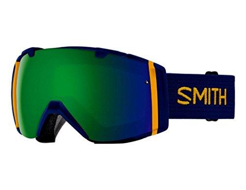 [数量限定] 17-18 SMITH スミス ゴーグル IO I_O アイオー Navy Scout [Sun Green Mirror/Storm Rose Flash] CHROMAPOP JAPAN FIT アジアンフィット 日本正規品