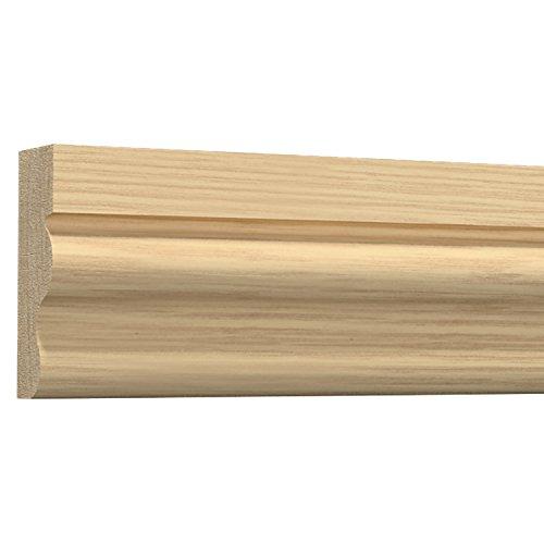 モールディング 廻り縁・チェアレール・フレーム サンメントTH 天然木製 NTH018