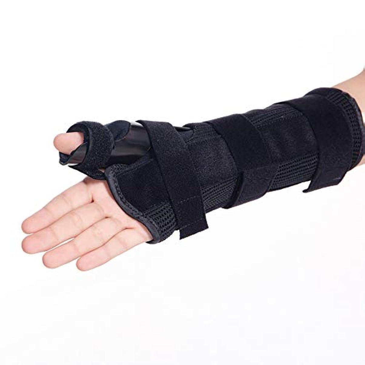 ママレコーダー落とし穴指サポート手根管ナイト手首スプリントサポートイモビライザー指手首骨折固定腱炎、関節炎&捻挫前腕サポートキャスト