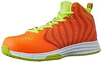 [ピーク] 安全靴 セーフティーシューズ メンズ オレンジ×イエロー 24.5 cm 3E