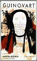 ポスター ジョゼップ ギノバルト Museum Bochum 1990年 限定800枚 額装品 アルミ製ハイグレードフレーム(シルバー)