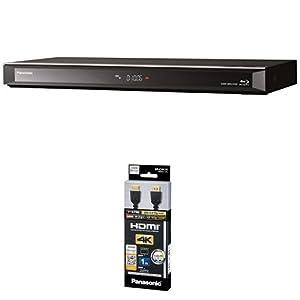 パナソニック 1TB 6チューナー ブルーレイレコーダー DIGA DMR-BRG1030 + HDMIケーブル 4Kハイグレード 1.0m RP-CHK10-K セット