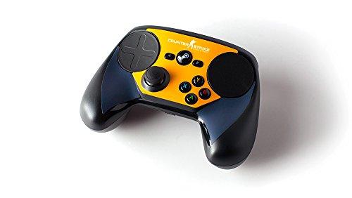 【国内正規品】 Steamコントローラー用スキン (CS:GO ブルーオレンジ)