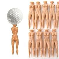 SM SunniMix ゴルフティー 多機能 ABS樹脂製 ゴルフアクセサリー 約10個入り