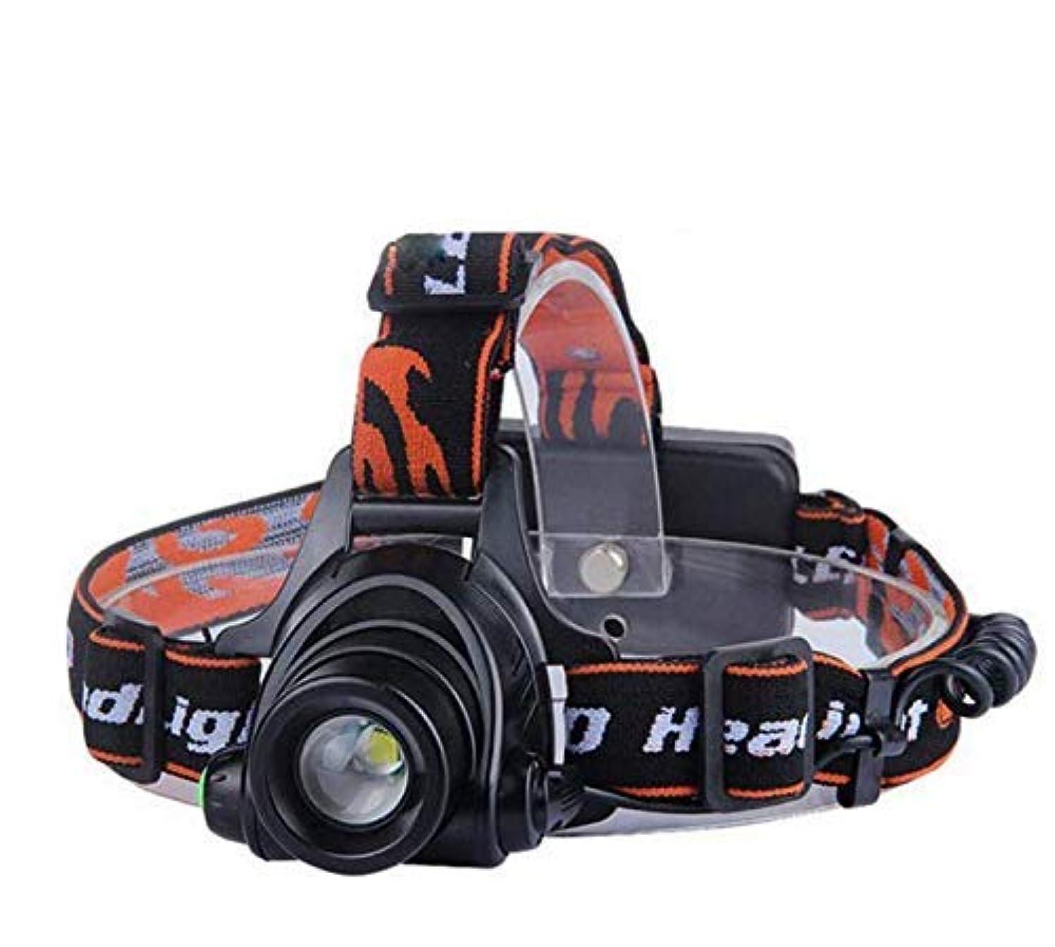 BaFangヘッドライトT6充電式ヘッドトーチ - 超高輝度、防水、軽量&快適 - ランニング、ウォーキング、キャンプ、ハイキングに最適なヘッドランプ