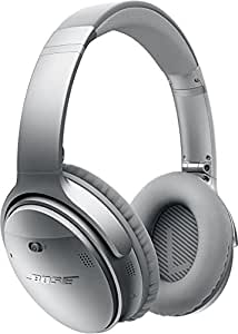 Bose QuietComfort 35 wireless headphones : ワイヤレスノイズキャンセリングヘッドホン 密閉型/オーバーイヤー/Bluetooth・NFC対応/リモコン・マイク付き シルバー QuietComfort35 WLSS SLV【国内正規品】