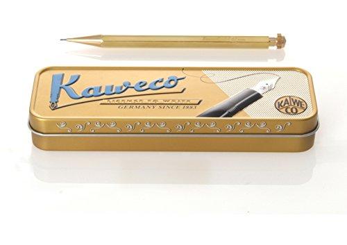 カヴェコ シャープペンシル ブラス 10x10x140mm PS-05BR 0.5mm 正規輸入品