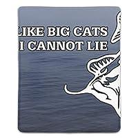 マウスパッド ゲーミング 高級感 おしゃれ 耐久性 滑り止めゴム 疲労低減 マウス パッド 180x220x3mm 私は大きな猫が好きNiはうそをつくことができない