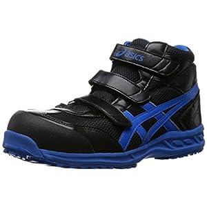 [アシックスワーキング] asics working 安全靴 作業靴 ウィンジョブ42S FIS42S 9042(ブラック/ブルー/26.5)
