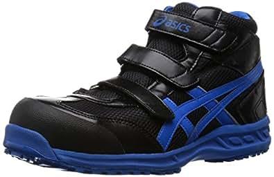 [アシックスワーキング] asics working 安全靴 作業靴 ウィンジョブ42S FIS42S 9042(ブラック/ブルー/22.5)