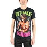 Ultimate Warrior, The - - 闇メンズスリムTシャツ, Large, Black