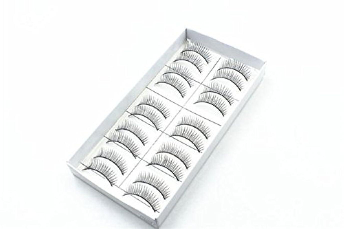 骨髄お互い引き付けるつけまつげ LLuche 3Dミンクつけまつ毛ア グラマラスボリュームアイラッシュ ふんわりロングまつ毛 ふんわりロングまつ毛 10組の方法自然なハンドメイドの長いつけまつげの構造つけまつげ012(黒, 超良い品質と低価格 魅惑的な クリスマス ギフト 人気 新タイプ ポータブル)