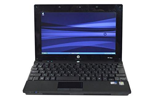 中古ノートパソコン HP Mini 5101 Notebook SSD128GB搭載 10.1インチワイド高解像度HD液晶 (1,366×768) CPU:Atom N280 1.66GHz メモリ:2GB SSD:128GB Wi-Fi対応無線LAN Windows XP Professional リカバリディスク付属