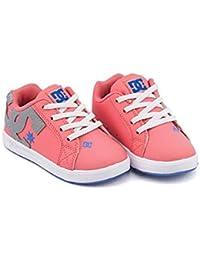 [ディーシーシュー] DC SHOE 女の子 男の子 キッズ ベビー 子供靴 運動靴 通学靴 ベビーシューズ スニーカー トドラーズ コート グラフィック TODDLERS COURT GRAFFIK ELASTIC SE...