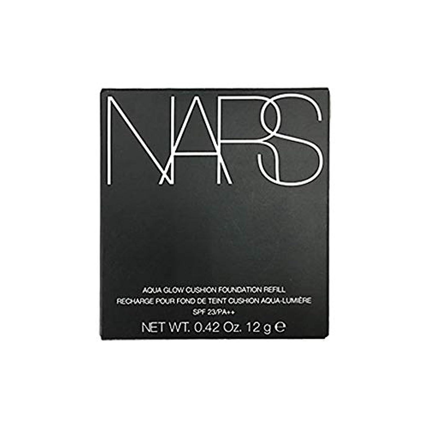 ベリ鳴らす脆いNARS アクアティックグロー クッションコンパクト (レフィル) SPF23/PA++ #6803 [並行輸入品]