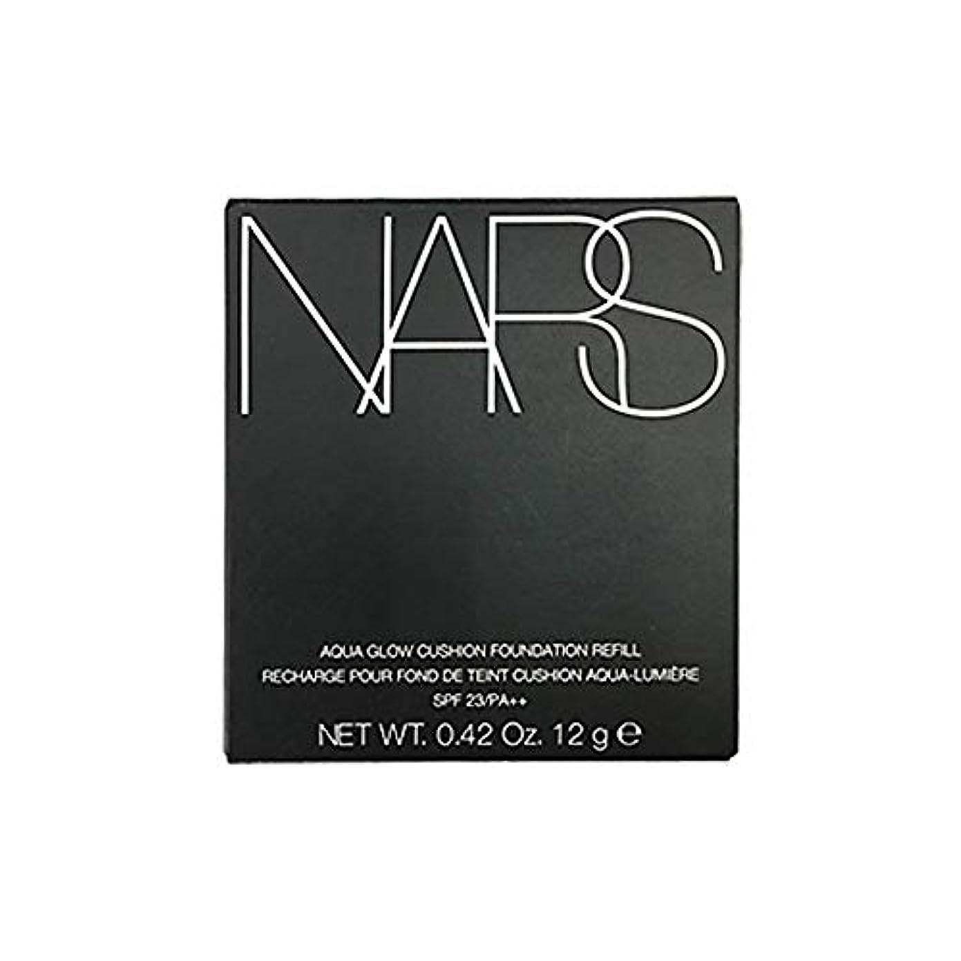 遅いそっと買い手NARS アクアティックグロー クッションコンパクト (レフィル) SPF23/PA++ #6803 [並行輸入品]