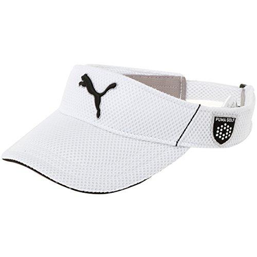 (プーマゴルフ)PUMA GOLF ゴルフウェア ゴルフ メッシュ バイザー 866426 [メンズ] 866426 02 ホワイト フリーサイズ