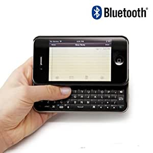 iPhone4専用スライド式Bluetoothミニキーボード