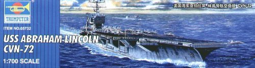 Trumpeter 1/700 USS Abraham Lincoln CVN-72 # 05732 by Trumpeter [並行輸入品]