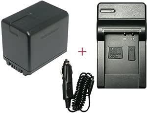 【 充電器 セット (コンパクトタイプ)】 Panasonic パナソニック VW - VBK360 -K 互換 バッテリー