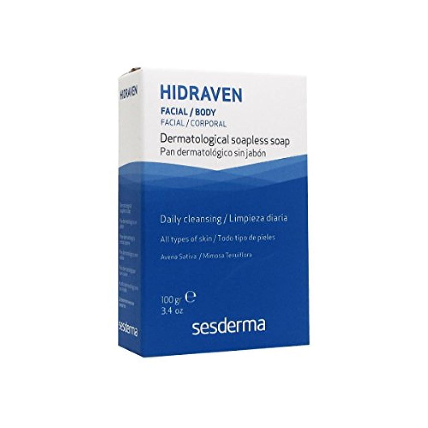 レンジページェントファブリックSesderma Hidraven Dermatological Soap 100gr [並行輸入品]