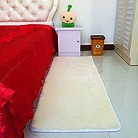 カーペット ラグマット ラグ 洗えるラグ 長方形 カラー 四角 絨毯 リビング 防ダニ 防音 北欧 120*160 折り畳 滑り止め ホットカーペットカバー 対応 約1.5畳 高級感 低反発 冷房対策 長毛 ふわふわ 床暖房対応 無地 浪漫的