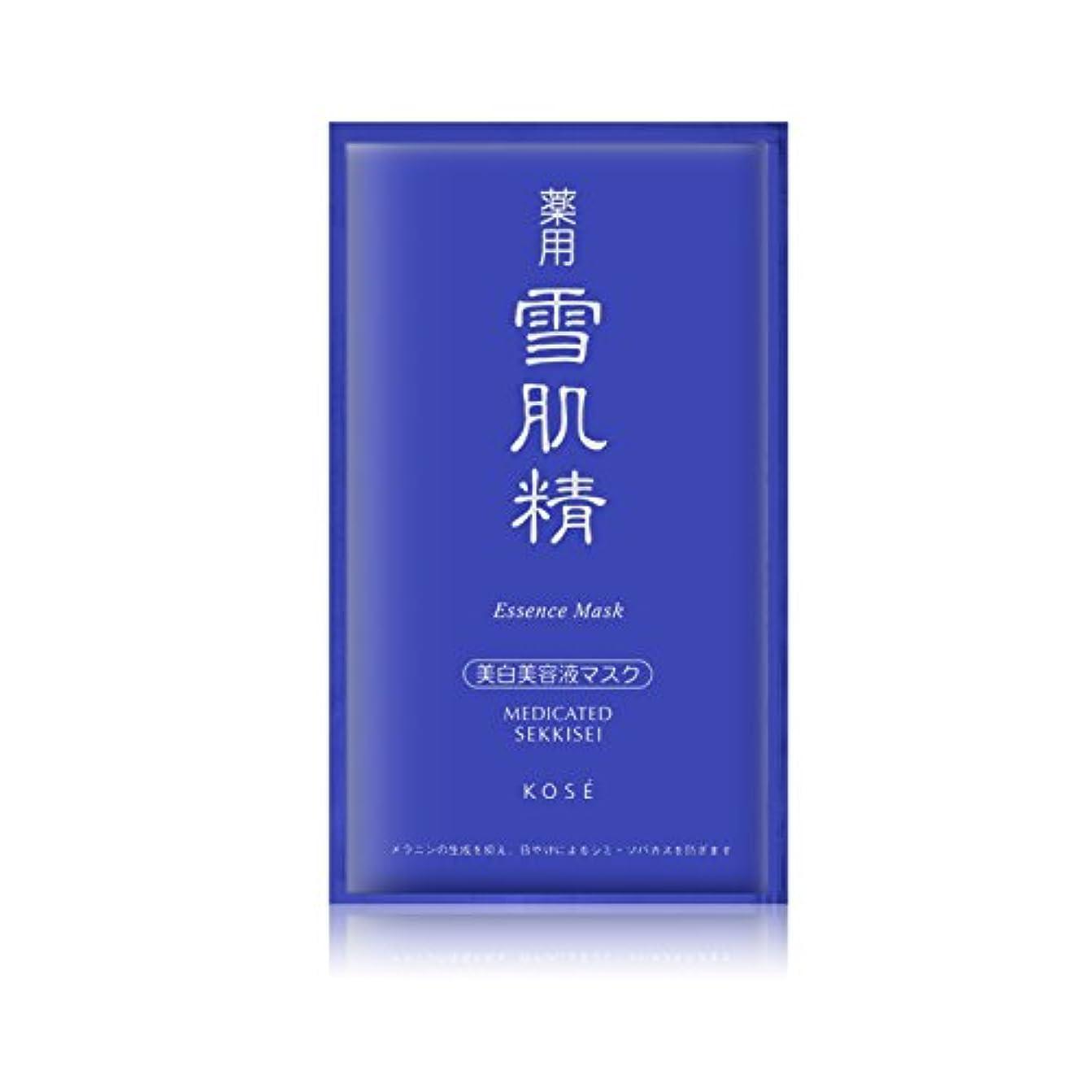 香港結核情熱的コーセー 薬用 雪肌精エッセンスマスク 6x24ml