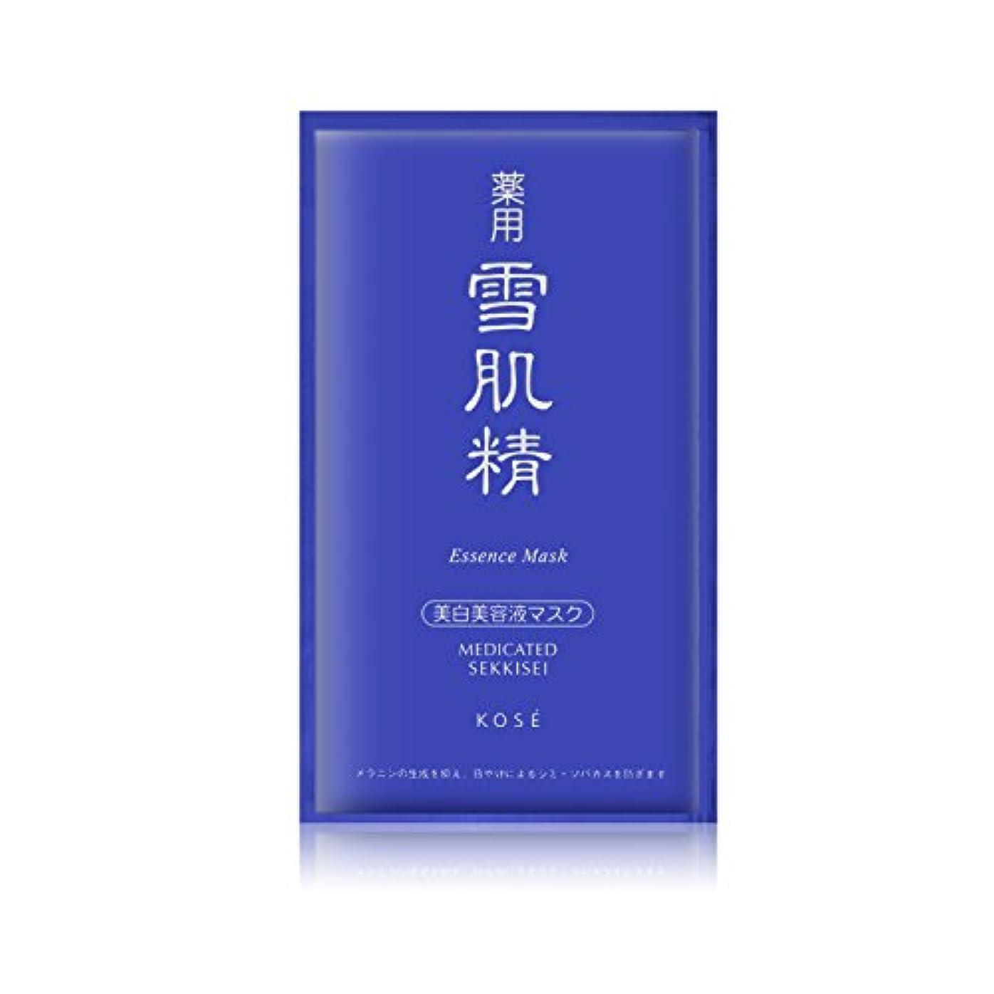 好む錆びイヤホンコーセー 薬用 雪肌精エッセンスマスク 6x24ml