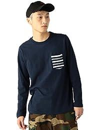 (ビームス) BEAMS / リブポケット クルーネック ロングTシャツ 11140860823