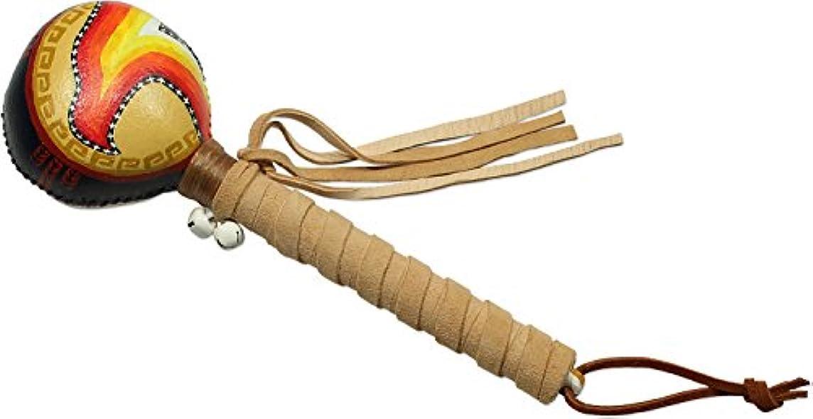 集中楽観矩形Native American Eagle Spirit Rattle