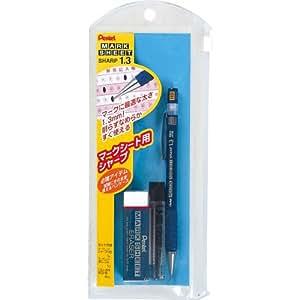ぺんてる シャープペンシル 1.3mm マークシートシャープセット AM13STHB / 5セット