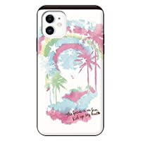 iPhone11 iPhoneケース (ハードケース) [カード収納/耐衝撃/薄型] Oilshock Designs (オイルショックデザインズ)Rainbow Beach スマホケース 携帯電話用ケース アイフォンケース CollaBorn