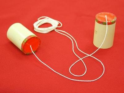 かぐや姫竹糸電話 / なつかしのおもちゃ