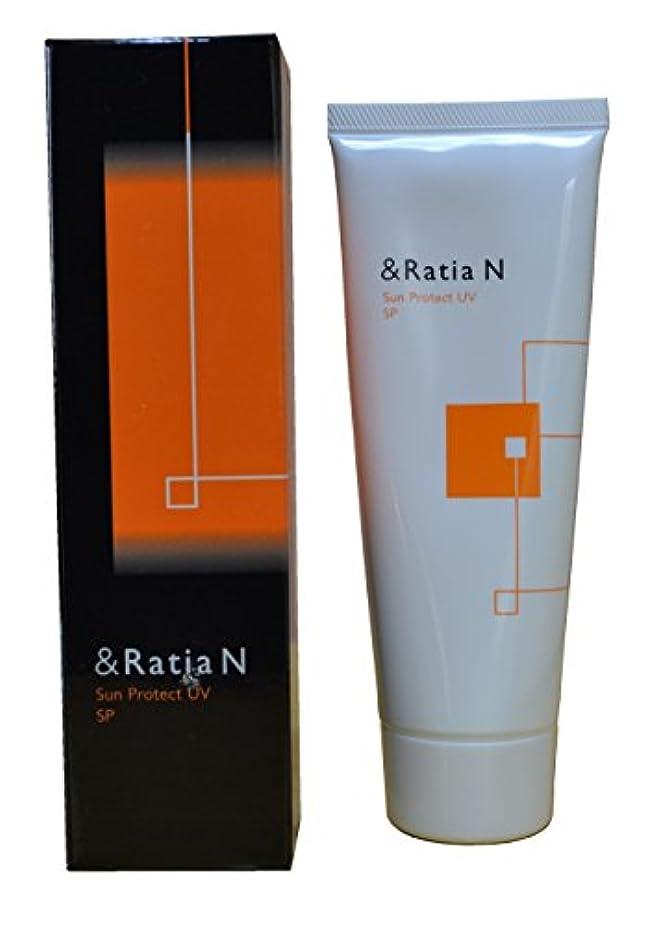 生産性取り戻す関税&Ratia N(アンドラティア ナノ)サンプロテクトUV SP(日焼け止めメークアップベース)80g