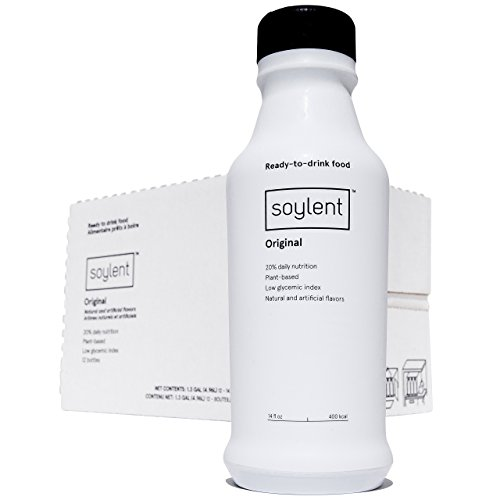Soylent Ready to Drink Bottle (12 Bottles) by Soylent