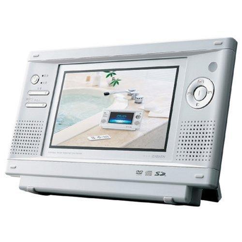 TWINBIRD 防水DVDプレーヤー ホワイト VD-J7...