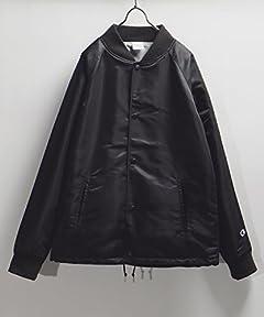 Champion x Freak's Store Baseball Jacket 15531400060: Black