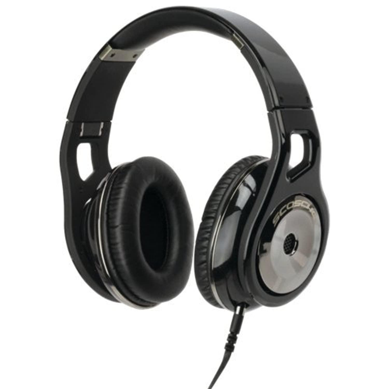 【国内正規代理店品】 SCOSCHE ヘッドホン Reference Headphones with tapLINE III (Dark) RH1056MD