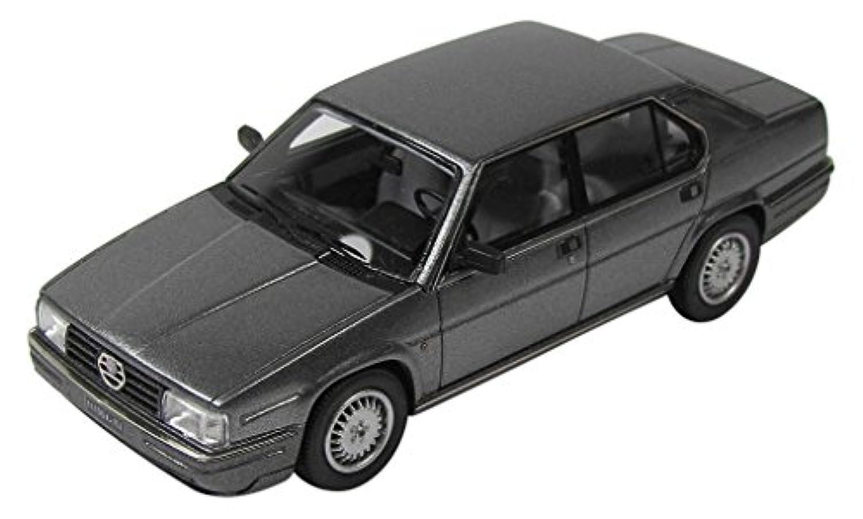 KESS 1/43 アルファロメオ 90 クアドリフォリオ 1984 メタリックグレー 完成品
