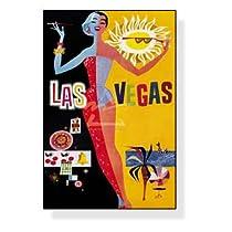 ポスター 作者不明 Las Vegas