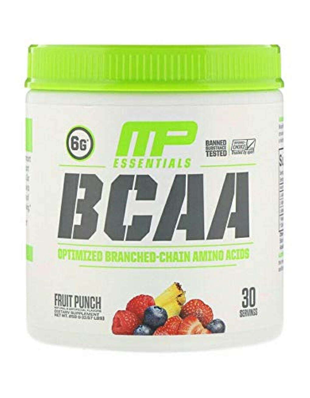 キャスト上に結び目MusclePharm, BCAA、 フルーツポンチ (258 g) 並行輸入品