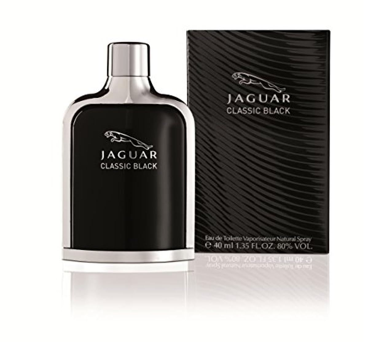 消えるリマ繊毛ジャガー クラシック ブラック EDT SP 40ml
